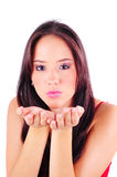 Blowing Kisses Royalty Free Stock Photo