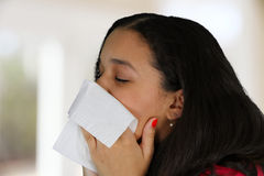 Blowing Nose Stock Photos