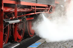Blowing off steam Stock Image
