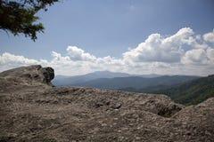 Blowing Rock in North Carolina Stock Photo