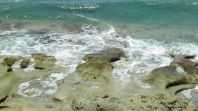 Blowing rocks state park. In Jupiter Florida Royalty Free Stock Photography