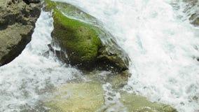 Blowing rocks state park. Jupiter Florida water stock photos