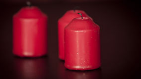 Blown Candles Royalty Free Stock Photos