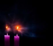 Blown Out Candles Royalty Free Stock Photography