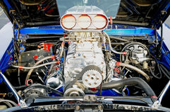 BLown Racing engine. Image of a blown racing engine Royalty Free Stock Photography