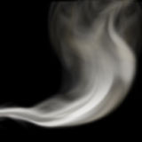Blown smoke Royalty Free Stock Images