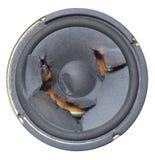 Blown speaker Stock Images