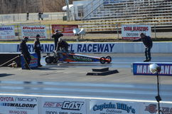 Blown Top Dragster Stock Photo