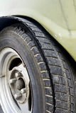 Blowout tire Royalty Free Stock Photo