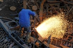 Blowpipe Welding Stock Images
