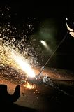Blowpipe Welding Royalty Free Stock Images