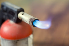 Blowtorch flame Royalty Free Stock Photos