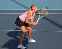 blr球员poutchek专业tatiana网球 免版税图库摄影
