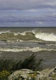Blåsiga Waves Arkivbilder