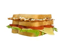 BLT Club Edge Royalty Free Stock Images
