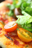 BLT pizza closeup Royalty Free Stock Photography