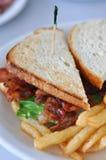BLT Sandwich Lizenzfreie Stockfotos