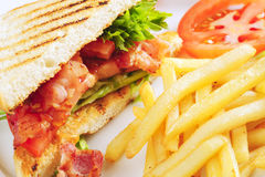 BLT sandwich Stock Images
