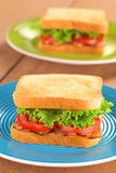 BLT Sandwich Stockfoto