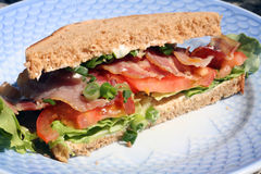 BLT sandwich Royalty Free Stock Photos