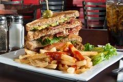 BLT Sandwich Stock Photography