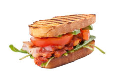 BLT sandwich Royalty Free Stock Photo
