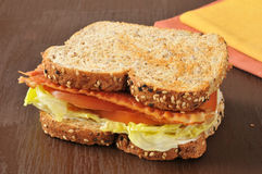 BLT Sandwich Royalty Free Stock Image