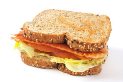 BLT Sandwich Royalty Free Stock Photography