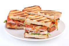 BLT-Sandwiche Lizenzfreies Stockbild