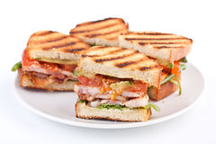 BLT sandwiches Royalty Free Stock Image