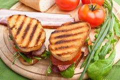 BLT sandwiches Royalty Free Stock Photo