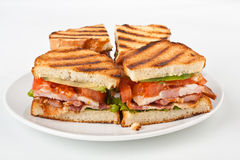 BLT sandwiches Stock Photography