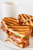 BLT sandwiches Stock Photo