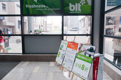 Blt supermarket Stock Photo