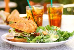 BLTA Sandwich Stock Photography