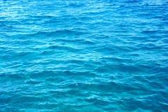 blått hav Arkivfoto