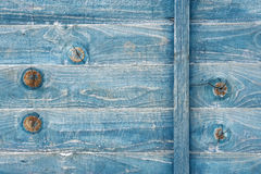 blått nedfläckadt trä Arkivbilder