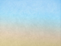 Blått- och bruntabstrakt begrepp återanvänder den pappers- modellen snör åt på tygbakgrundstextur, tappningstil för havet och str Arkivfoton