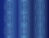 Blu 3D abstract background Royalty Free Stock Photo