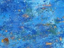 Blu Fotografia Stock