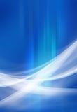 Blu astratto del fondo Fotografie Stock