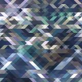 Blu astratto del fondo del triangolo Fotografia Stock Libera da Diritti