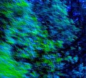 Blu astratto/verde Immagine Stock