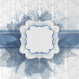 Blu bride royalty free illustration