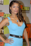 Blu Cantrell on the red carpet. Royalty Free Stock Image