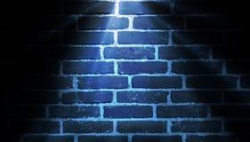 Blu del fondo di illuminazione del punto Immagine Stock Libera da Diritti