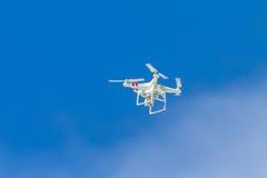 Blu del fuco di volo video Fotografia Stock Libera da Diritti