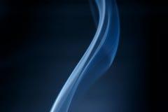 Blu del fumo Immagini Stock