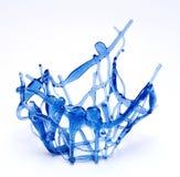 blu del vaso Immagine Stock