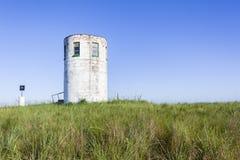 Blu della sommità della torre dell'allerta Fotografie Stock Libere da Diritti